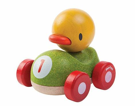 Duck Racer, Organic Wooden Toys From Plan Toys