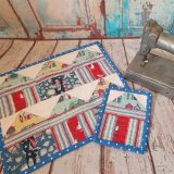 Mini House / Beach Huts Placemat and Coaster Workshop – Friday 6th March 10am until 4pm